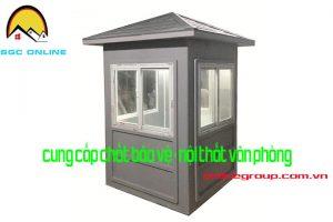 Cabin bảo vệ di động khung thép